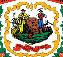 West Virginia state coat of arms Sticker