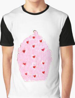 Jacqueline's Cupcake Graphic T-Shirt