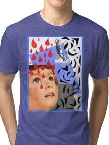 Daddy's Falling Tri-blend T-Shirt
