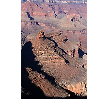 Grand Canyon South Rim Colors 8 Vertical Photographic Print