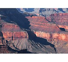 Grand Canyon South Rim Textures 4 Photographic Print