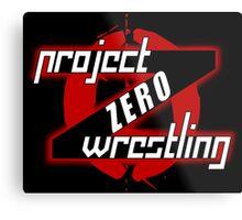 PZW [Project Zero Wrestling] Metal Print