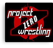 PZW [Project Zero Wrestling] Canvas Print