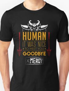 Asgore is glad to meet you T-Shirt