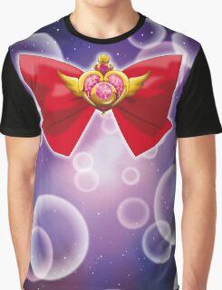 Sailor Moon - Crisis Moon (ribbon edit.) Graphic T-Shirt