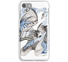 Blues and Browns iPhone Case/Skin