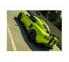 Lotus Elise (feat. Lime & Stripes) Art Print