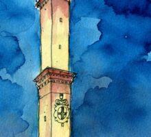 La Lanterna di Genova all'imbrunire Sticker