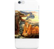 Evelyn de Morgan - Earthbound , angles,old man,heaven  iPhone Case/Skin