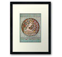 Alphonse Mucha - Ivy  Framed Print