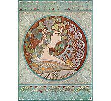 Alphonse Mucha - Ivy  Photographic Print