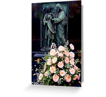 Daisies on a grave Greeting Card