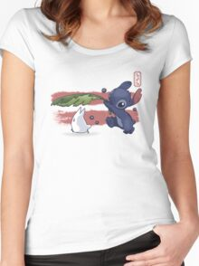 The Spirit of Ohana Women's Fitted Scoop T-Shirt