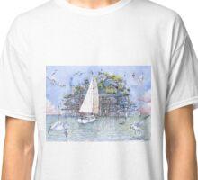 La citta' sul mare Classic T-Shirt