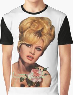 Brigitte Bardot  Graphic T-Shirt