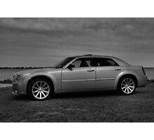 B & W SRT Side View  Photographic Print