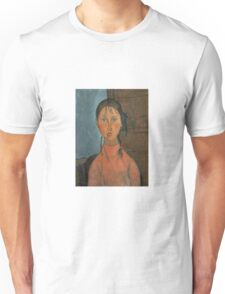Amedeo Modigliani - Girl With Pigtails Unisex T-Shirt