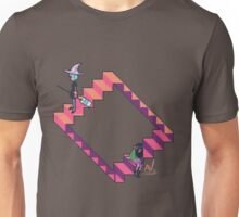 LOOPING STAIRCASE Unisex T-Shirt