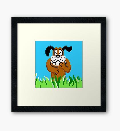 Duck Hunt from NES Framed Print