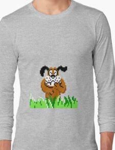 Duck Hunt from NES Long Sleeve T-Shirt
