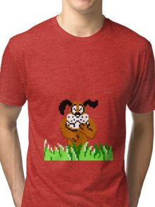 Duck Hunt from NES Tri-blend T-Shirt