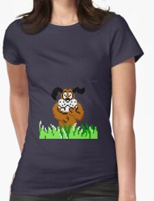 Duck Hunt from NES Womens Fitted T-Shirt