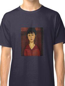 Amedeo Modigliani - Head Of A Young Girl Classic T-Shirt