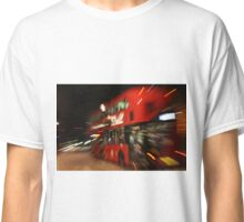 The London Bus at Night Classic T-Shirt