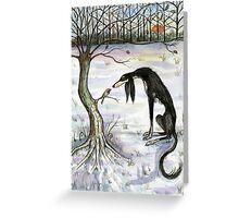 A Winters Secret Greeting Card