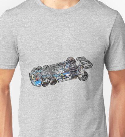 Tyrell P34 cutaway Unisex T-Shirt