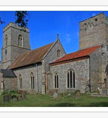 All Saints, Weybourne Sticker