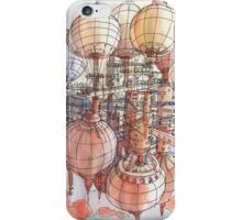 The flying village! iPhone Case/Skin