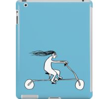 Clare In A Rush iPad Case/Skin