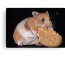 Hamster Goldhamster Canvas Print
