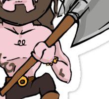 Rollo axe Sticker