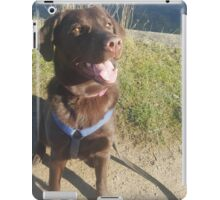 Nancy AKA Crazy Chocolate Lab iPad Case/Skin