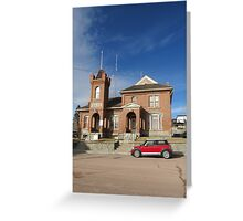 MINI Moments, Jail, Philipsburg, Montana Greeting Card
