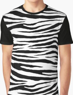 0043 White Tiger Graphic T-Shirt
