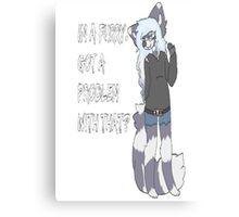 Furry Pride Canvas Print