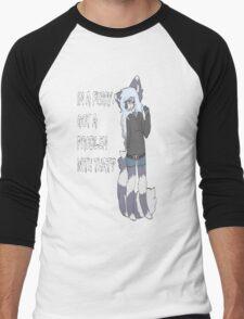 Furry Pride Men's Baseball ¾ T-Shirt