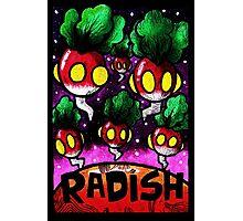 Radish Invasion  Photographic Print