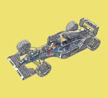 Williams Renault FW15C Baby Tee