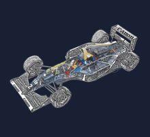 Williams Renault FW15C One Piece - Short Sleeve