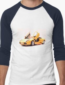 Sports car 3 Men's Baseball ¾ T-Shirt