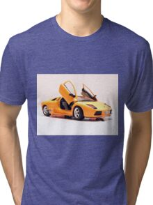 Sports car 4 Tri-blend T-Shirt