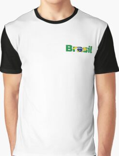 Brasil (Small) Graphic T-Shirt