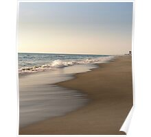 Serenity (Easter Morning on the Beach) Poster