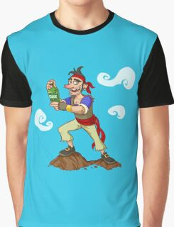 Pirate Drink Graphic T-Shirt