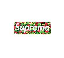 Supreme X Bape Psyche Camo Photographic Print