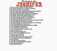 30 reasons to ship Joshifer Unisex T-Shirt